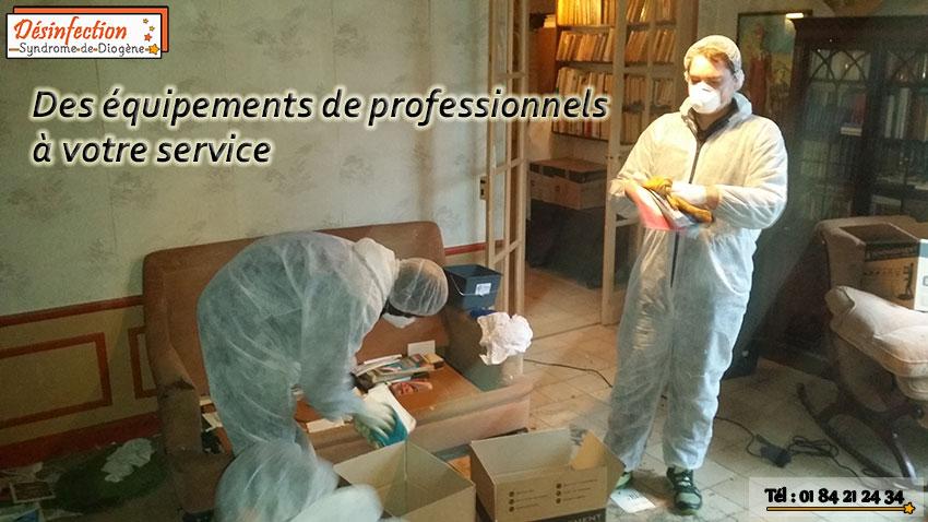équipements de professionnels syndrome de diogène