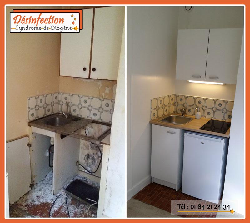 Rénovation et remise en état de logement