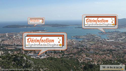 Trouver une entreprise à Toulon pour le débarras et la désinfection d'un logement très encombré