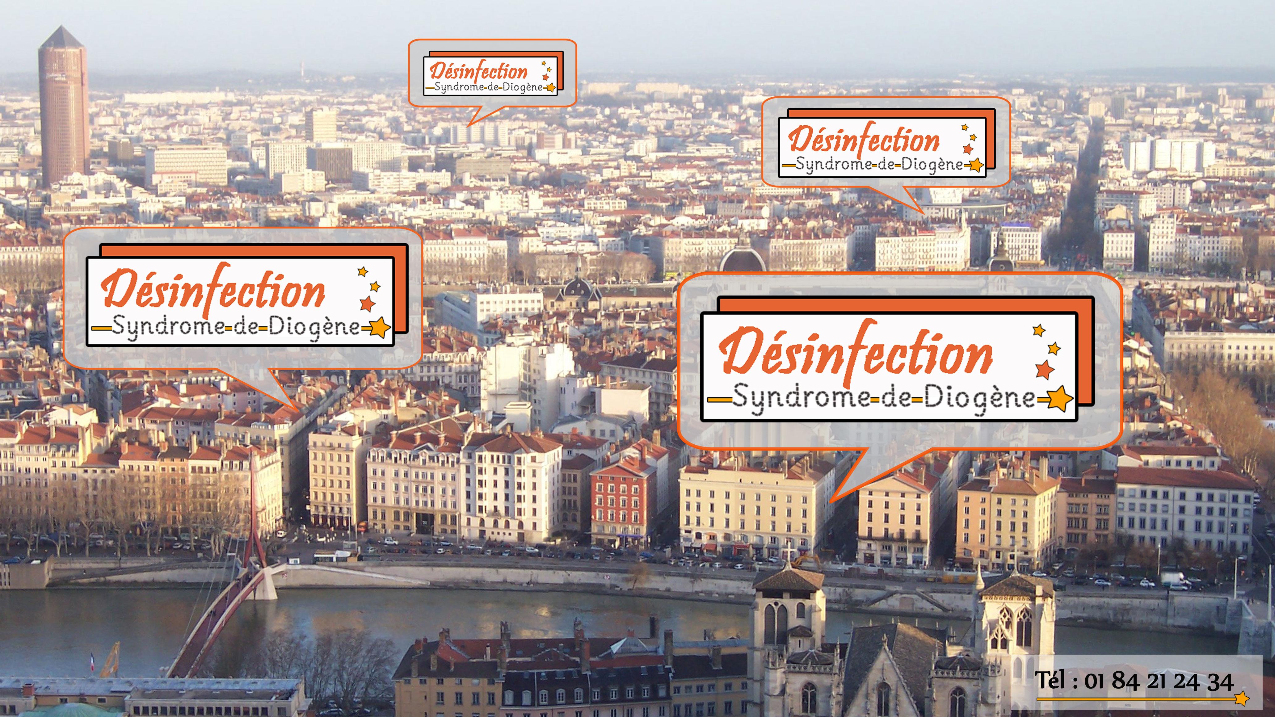 Entreprise de débarras et de désinfection à Lyon dans le cas d'un syndrome de diogène