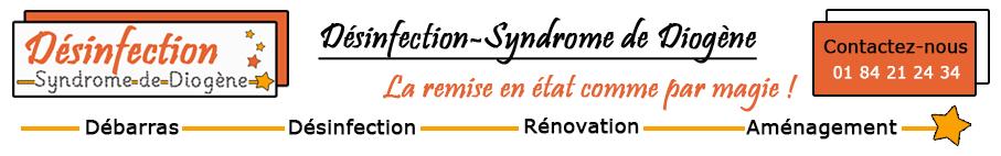 Désinfection Syndrôme de Diogène