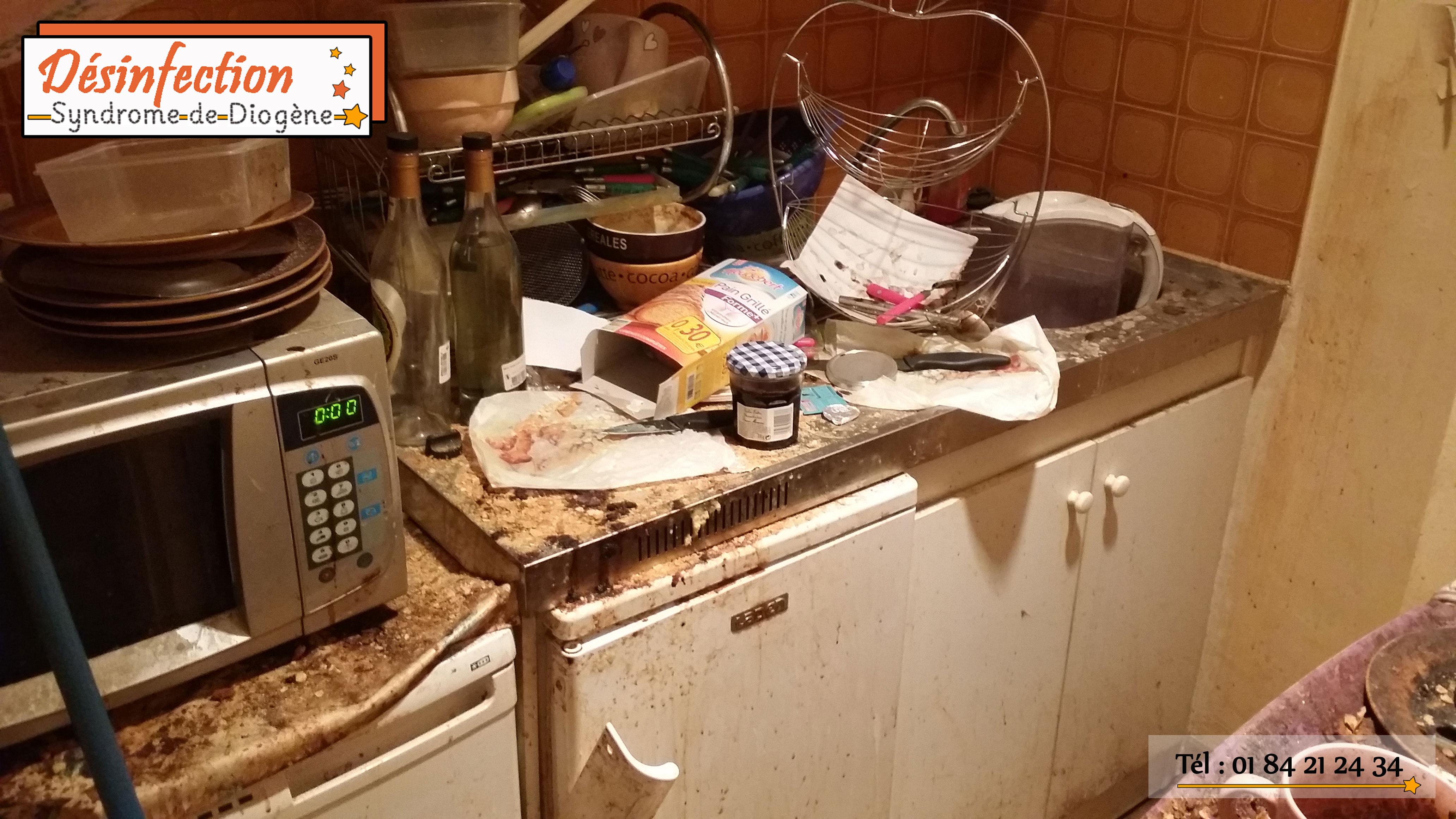 Débarras et désinfection d'un logement dégradé par un locataire en Seine-Saint-Denis (93)