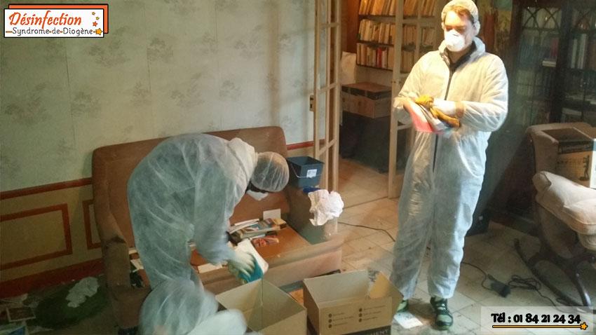 Vous cherchez une entreprise de nettoyage après décès, désinfection syndrome diogène peut intervenir