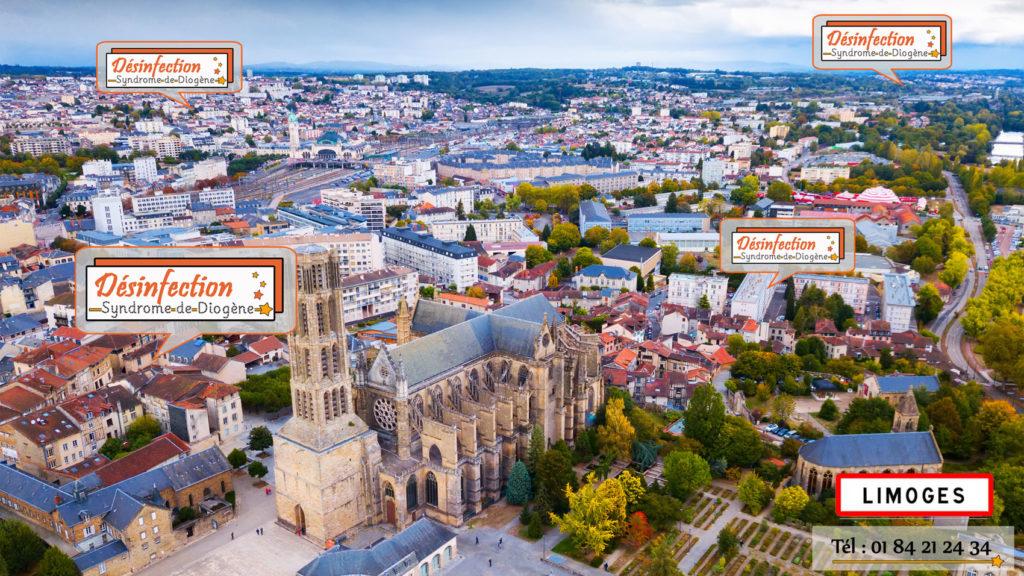 Entreprise de débarras et nettoyage extême Diogène à Limoges